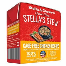 3 FOR $18.80: Stella & Chewy's Stella's Stew Cage-Free Chicken Recipe Dog Food 11oz