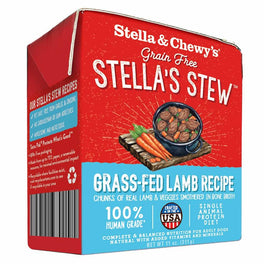 3 FOR $18.80: Stella & Chewy's Stella's Stew Grass-Fed Lamb Recipe Dog Food 11oz