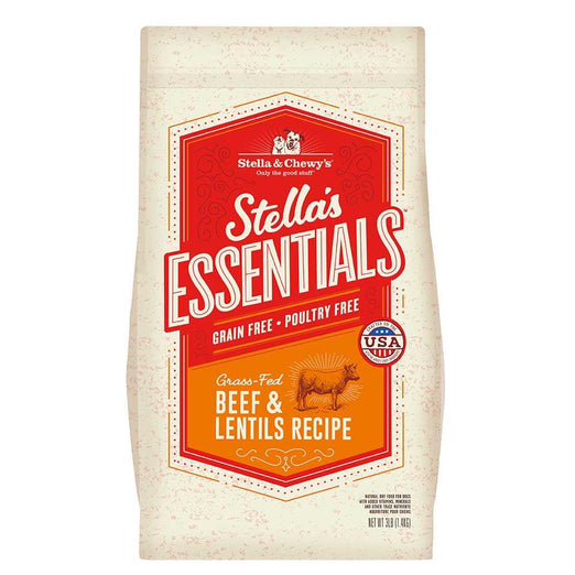 UP TO $57 OFF: Stella & Chewy's Stella's Essentials Beef & Lentils Grain-Free Dry Dog Food - Kohepets