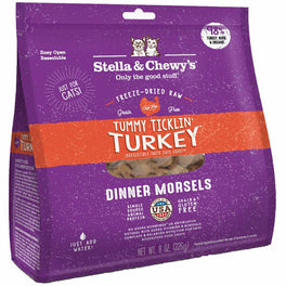 Stella & Chewy's Tummy Ticklin' Turkey Dinner Morsels Freeze-Dried Cat Food