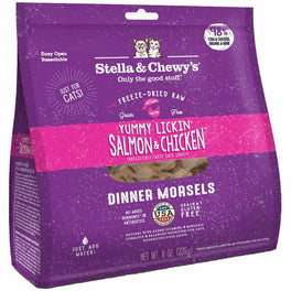 FREE WET FOOD: Stella & Chewy's Yummy Lickin' Salmon & Chicken Dinner Morsels Freeze-Dried Cat Food