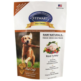 Stewart Raw Naturals Freeze-Dried Real Turkey With Berries & Flaxseed Dog Treat 4oz