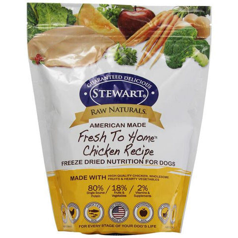 Stewart Raw Naturals Chicken Recipe Freeze-Dried Dog Food - Kohepets