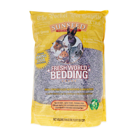 Sunseed Fresh World Bedding For Small Animals - Medium - Kohepets