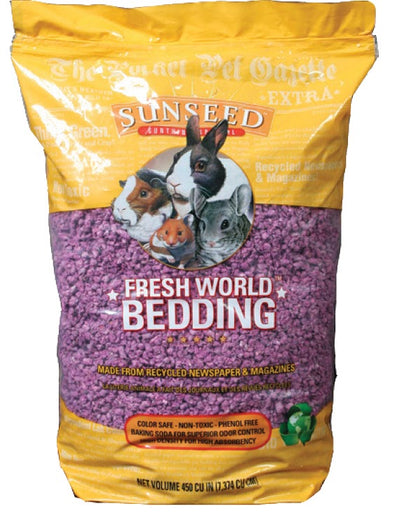 Sunseed Fresh World Bedding For Small Animals - Small - Kohepets