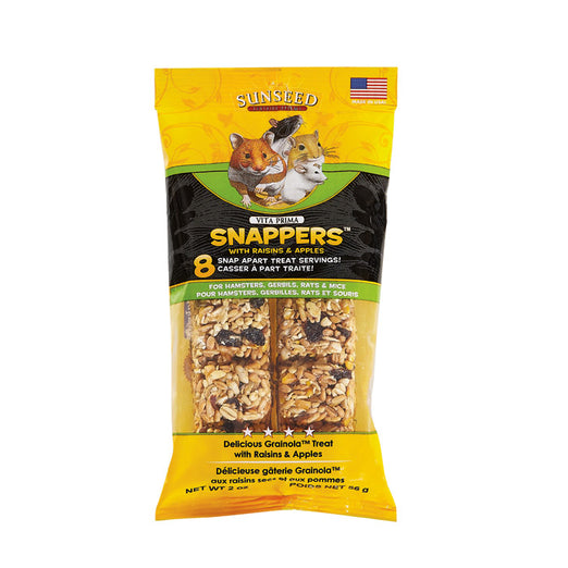 Sunseed Vita Prima Snappers With Raisins & Apples For Small Animals 2oz - Kohepets