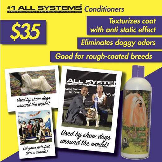 #1 All Systems Super Rich Protein Lotion Pet Conditioner