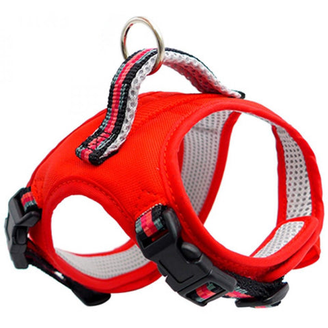 Tarky Aijyou Reflective Type Dog Harness (Red)