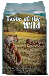 'FREE PATE': Taste of the Wild Appalachian Valley with Venison Small Breed Grain-Free Dry Dog Food