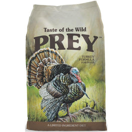 'FREE TREATS' + 50% OFF: Taste Of The Wild Prey Turkey Formula Grain-Free Dry Dog Food (Exp Oct 19)
