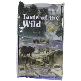 40% OFF + FREE BOWL: Taste of the Wild Sierra Mountain with Roasted Lamb Grain Free Dry Dog Food