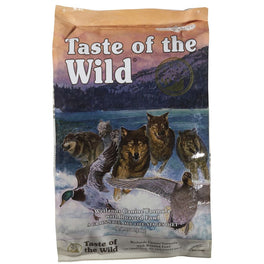 'FREE PATE': Taste of the Wild Wetlands with Roasted Fowl Grain Free Dry Dog Food