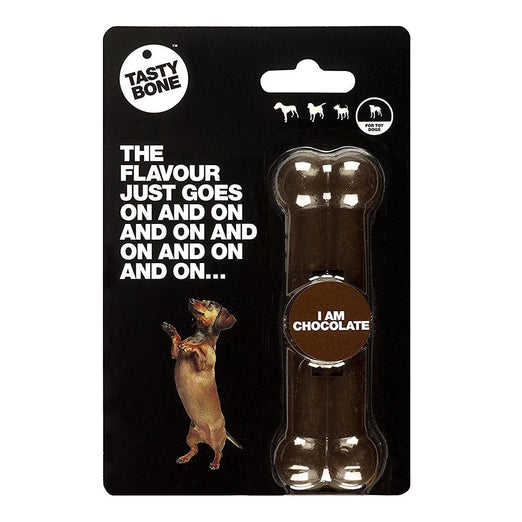 Tastybone Chocolate Flavoured Nylon Bone Dog Toy - Kohepets