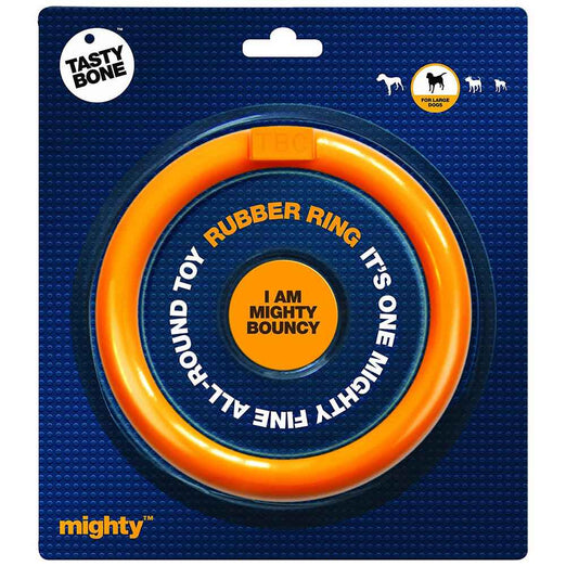 Tastybone Mighty Rubber Ring Dog Toy Large