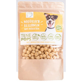 30% OFF: TenePops Insects & Potato Grain-Free Dog Treats 65g