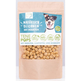TenePops Insects, Potato & Rosemary Grain-Free Dog Treats 65g