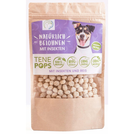 TenePops Insects & Rice Dog Treats 65g