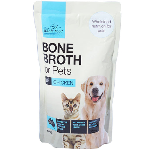20% OFF: The Art of Whole Food Chicken Bone Broth Topper for Cats & Dogs 500g