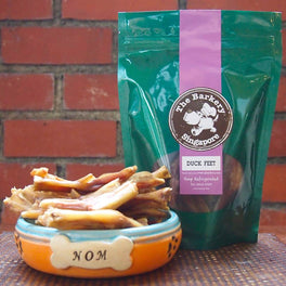The Barkery Duck Feet Dehydrated Dog Treats