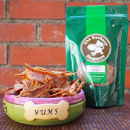 The Barkery Turkey Jerky Dehydrated Dog Treats