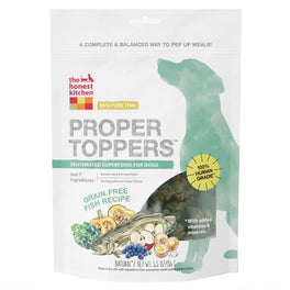 The Honest Kitchen Grain Free Fish Proper Toppers 5.5oz