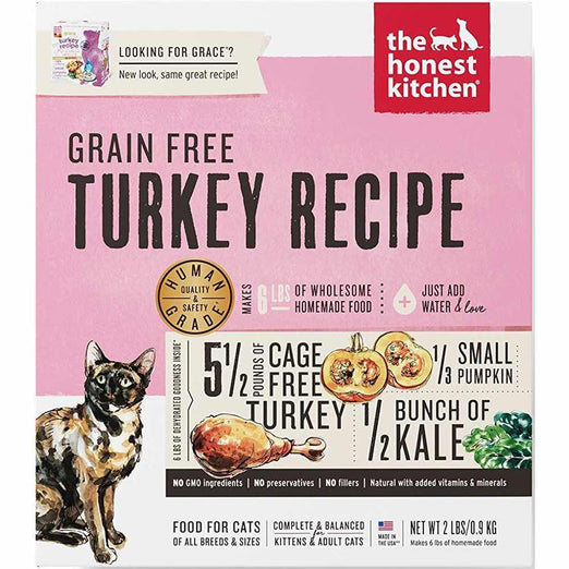 The Honest Kitchen Grace Dehydrated Raw Grain Free Cat Food - Kohepets