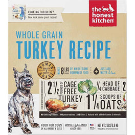 'FREE TREATS': The Honest Kitchen Keen Whole Grain Turkey Recipe Dehydrated Dog Food