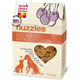 The Honest Kitchen Nuzzles Duck & Cherry Recipe Dog Treats 8oz