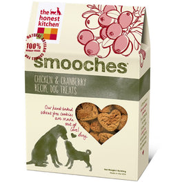 The Honest Kitchen Smooches Chicken & Cranberry Recipe Dog Treats 8oz