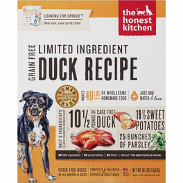 'FREE TREATS': The Honest Kitchen Spruce Duck & Sweet Potato Grain Free Dry Dog Food