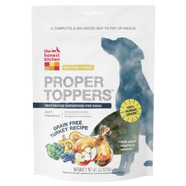 The Honest Kitchen Grain Free Turkey Proper Toppers 5.5oz
