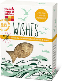 The Honest Kitchen Wishes Pure Icelandic Haddock Cat and Dog Treats 2oz