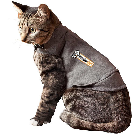 ThunderShirt Anxiety Relief For Cats - Grey - Kohepets