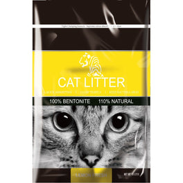 Tiger Pet Lemon Fresh Clumping Cat Litter 10L
