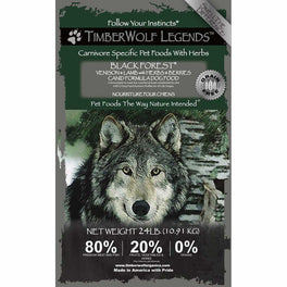 Timberwolf Legends Black Forest Venison & Lamb Grain Free Dry Dog Food