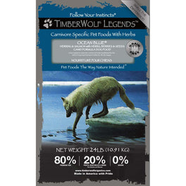 50% OFF: Timberwolf Legends Ocean Blue Herring & Salmon Grain Free Dry Dog Food (Exp 22 Aug 2019)