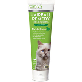 Tomlyn Laxatone Hairball Remedy Gel for Cats (Catnip Flavour) 4.25oz