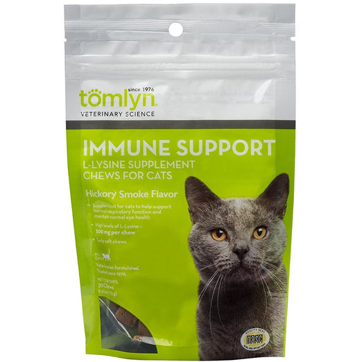 Tomlyn Immune Support L-Lysine Chews for Cats (30 Chews) - Kohepets