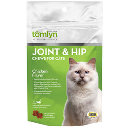 Tomlyn Joint & Hip Chews for Cats (30 Chews)