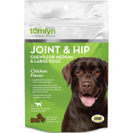 Tomlyn Joint & Hip Chews for Medium & Large Dogs (30 Chews)
