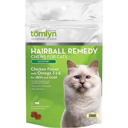Tomlyn Laxatone Hairball Remedy Chews for Cats (60 Chews)
