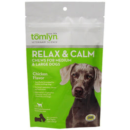 Tomlyn Relax & Calm Chews for Medium & Large Dogs (30 Chews)