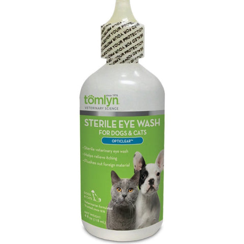 Tomlyn Opticlear Sterile Eye Wash 4oz - Kohepets
