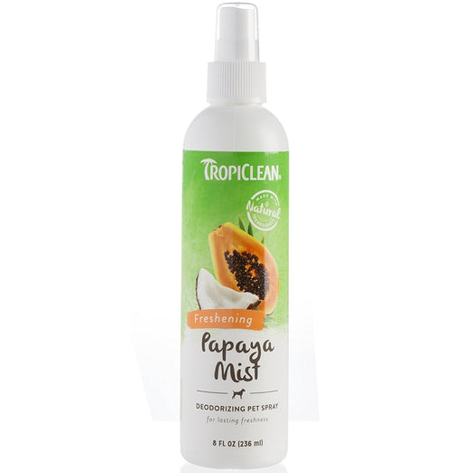 Tropiclean Papaya Mist Deodorizing Pet Spray 8oz - Kohepets