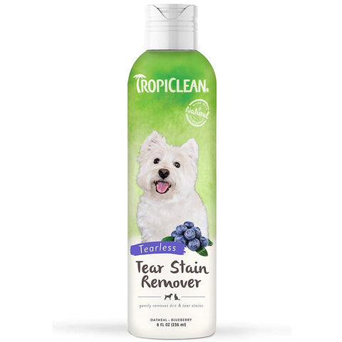 Tropiclean Tear Stain Remover for Dogs 8oz - Kohepets