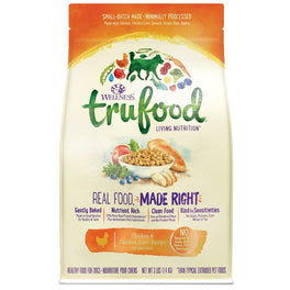 Wellness Trufood Baked Nuggets Grain Free Chicken & Chicken Liver Adult Recipe Dry Dog Food 3lb