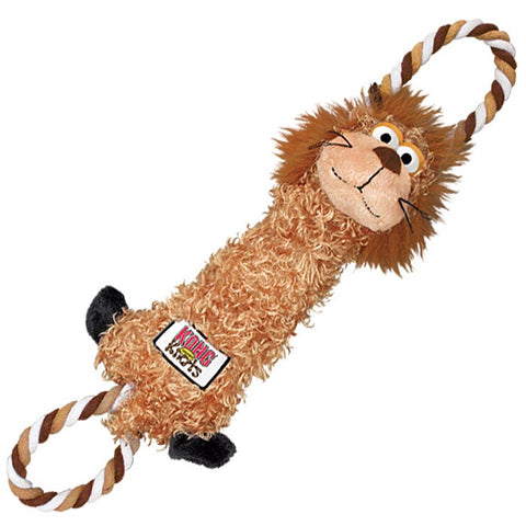 KONG Tugger Knots Lion Dog Toy - Kohepets