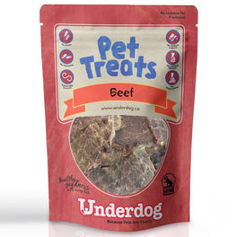 Underdog Beef Air Dried Dog Treats 80g