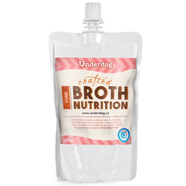 12% OFF: Underdog Bone Broth Pork Dog Food Topper (Frozen) 350ml (LIMITED TIME)