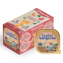 Underdog Cooked Kangaroo Complete & Balanced Frozen Dog Food 1.2kg